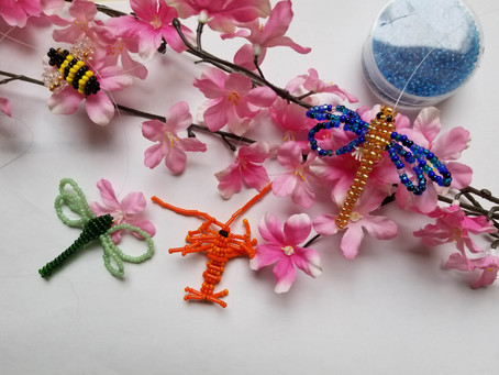 DIY Simple Bead Insect: Beading with Kids