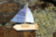 build a sailing boat, handtool project