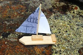 build a sailing boat, handtool project