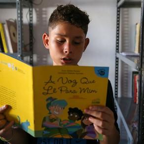 Clube de leitura das crianças