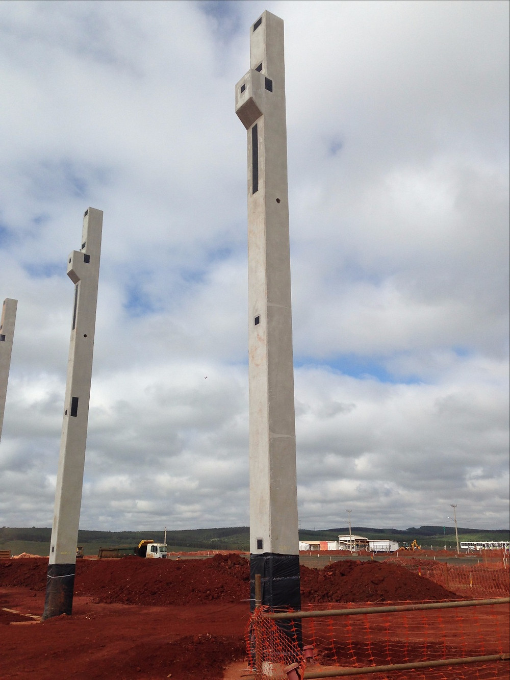 Pilares pré-fabricados