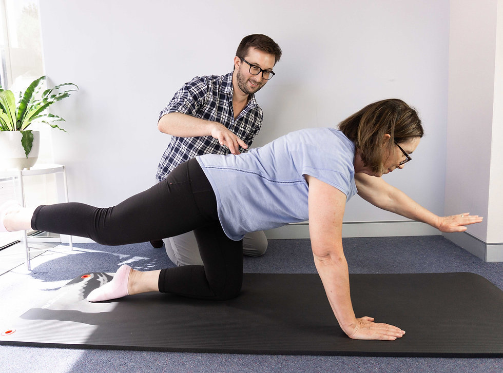 Clinical Exercise Group Classes Run By Qualified Physiotherapists