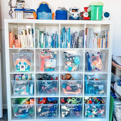 organised toy room