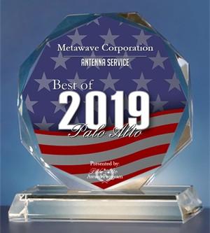 Metawave Corporation Receives 2019 Best of Palo Alto Award