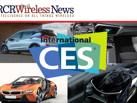 RCR Wireless: CES Is Now One of the World's Biggest Auto Shows as Ford to Uber Debut New Technology