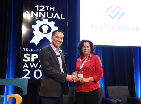 """Metawave Wins Telecom Council's SPIFFY Award for """"Best Mobile Opportunity"""""""