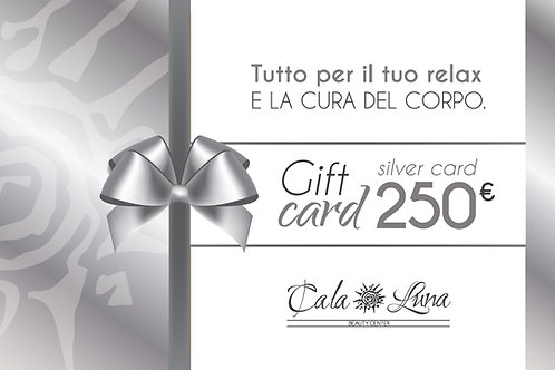 "Gift card ""SILVER"" 250€"