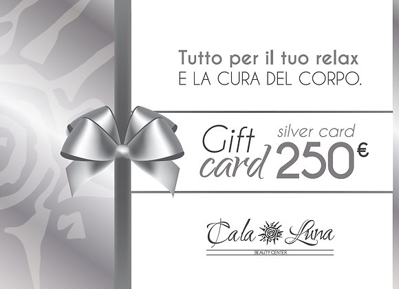 """Gift card """"SILVER"""" 250€"""