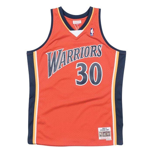Mitchell & Ness NBA Warriors Hardwood Classics Jersey Stephen Curry