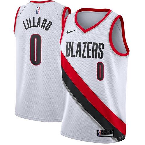 Nike NBA Portland Blazers Association edition Damian Lillard Swingman Jersey