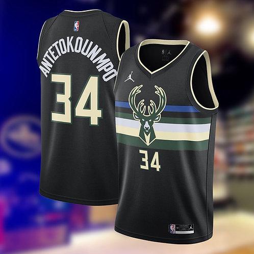 Jordan NBA Bucks Statement Edition Giannis Antetokounmpo Swingman Jersey