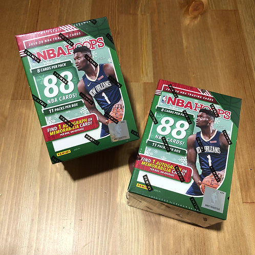 2019-20 Panini NBA Hoops Blaster Box