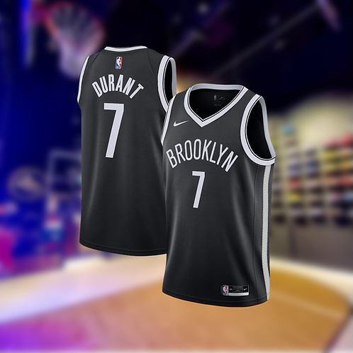 Nike NBA Nets Icon Edition Kevin Durant Swingman Jersey