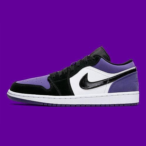 """Air Jordan 1 Low """"Court Purple"""""""