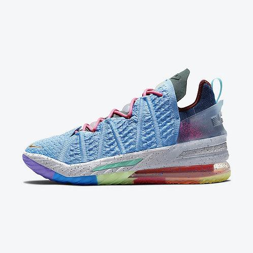 "Nike LeBron 18 ""What The"""