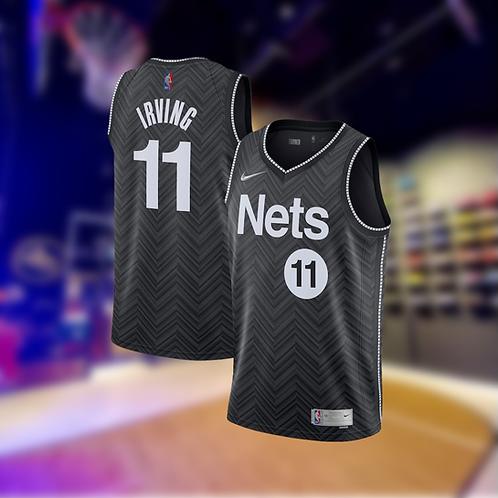 Nike NBA Nets Earned Edition Kyrie Irving Swingman Jersey