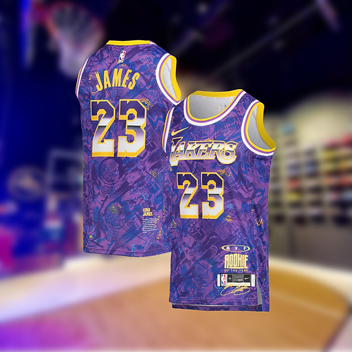 Nike NBA Lakers Select Edition LeBron James Jersey