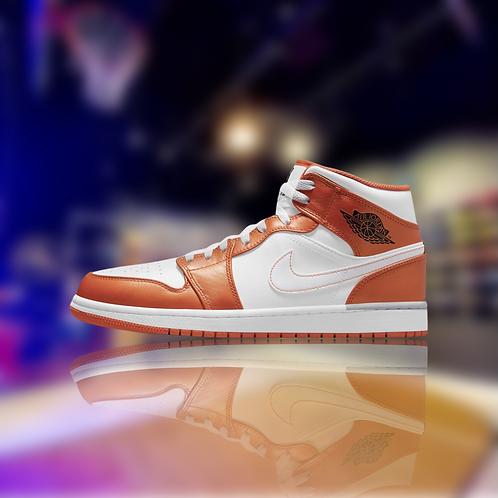 "Air Jordan 1 Mid SE ""Electro Orange"""