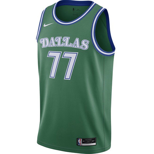 Nike NBA Dallas Mavericks Classic Edition Swingman Jersey Luka Doncic