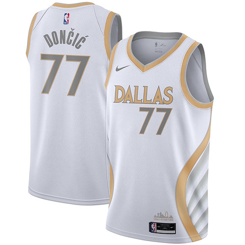 Nike NBA Mavericks 19-20 City Edition Luka Doncic Swingman Jersey