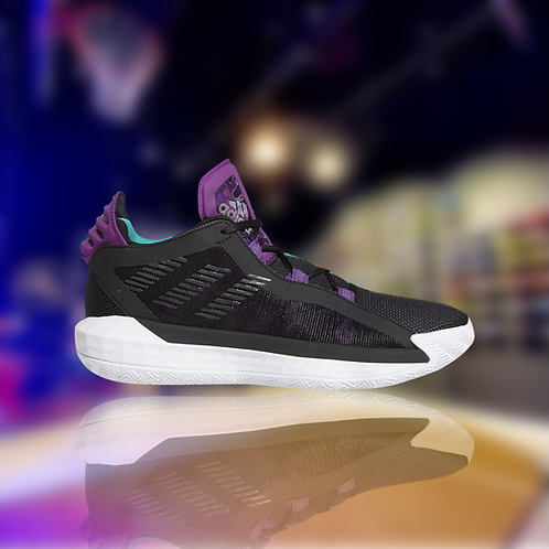 """Adidas Dame 6 """"Purple Teal Accents"""""""