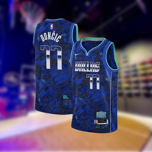 Nike NBA Mavericks Select Edition Luka Doncic Jersey