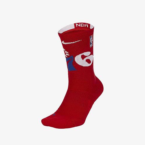 Nike Philadelphia 76ers Nike Elite NBA Crew Socks