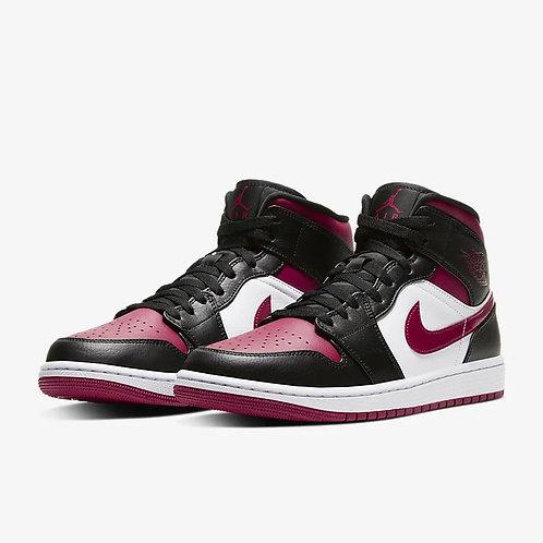 """Air Jordan 1 Mid GS """"Bred Toe"""""""