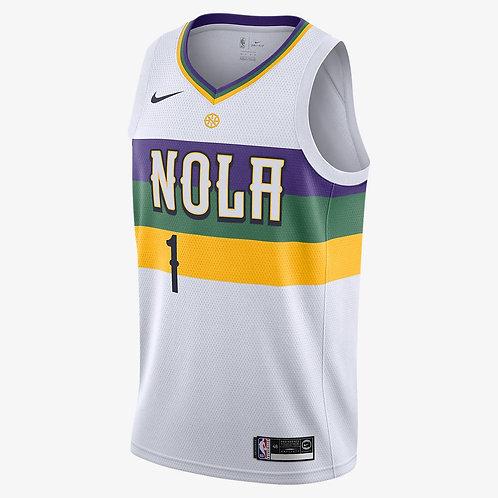 Nike NBA Pelicans City Edition Swingman Jersey Zion Williamson