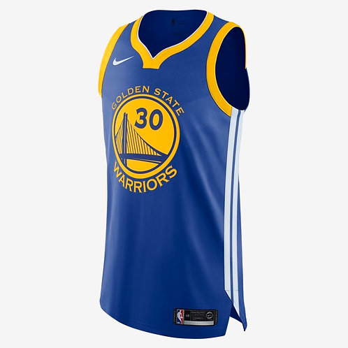 Nike NBA Authentic Jersey Stephen Curry Warriors Icon Edition