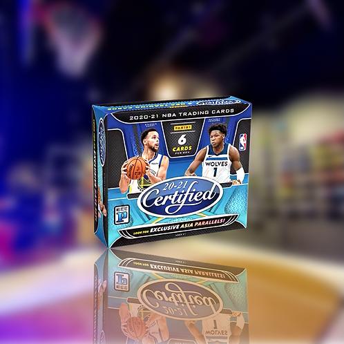 Panini NBA 20-21 Certified Asia Exclusive Box