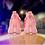 Thumbnail: 361 Degrees Zen 3 Pink/White Aaron Gordon basketball shoes