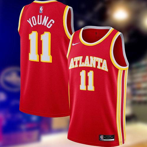 Nike NBA Hawks Icon Edition Trae Young Swingman jersey
