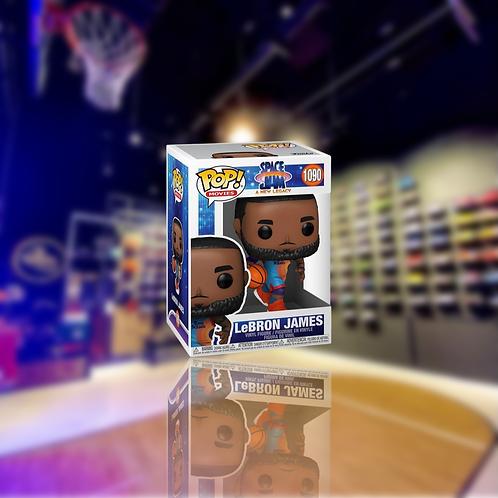 Funko Pop! Space Jam: A New Legacy LeBron James Dribbling
