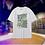 Thumbnail: LiNing BADFIVE Basketball Cotton T-Shirt White