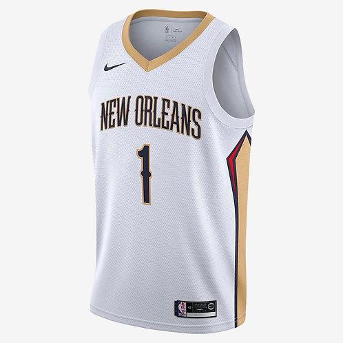 Nike NBA Pelicans Association Edition Zion Williamson Swingman Jersey