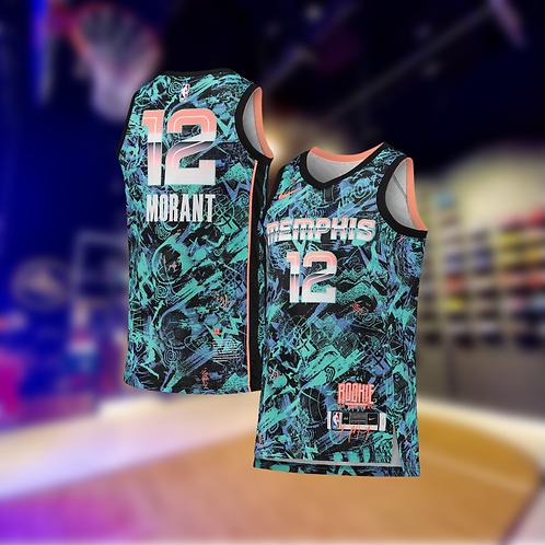 Nike NBA Grizzlies Select Edition Ja Morant Jersey