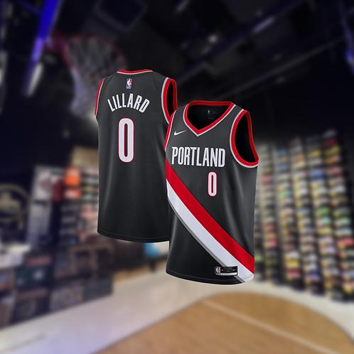 Nike NBA Trail Blazers Icon Edithon Damian Lillard Swingman Jersey