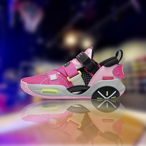 """LiNing Wade All City 9 V2 """" Pink Cloud """""""