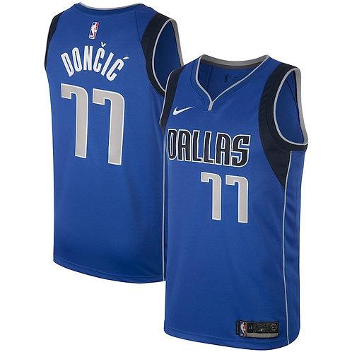 Nike NBA Dallas Mavericks Icon Edition Luka Doncic Swingman Jersey