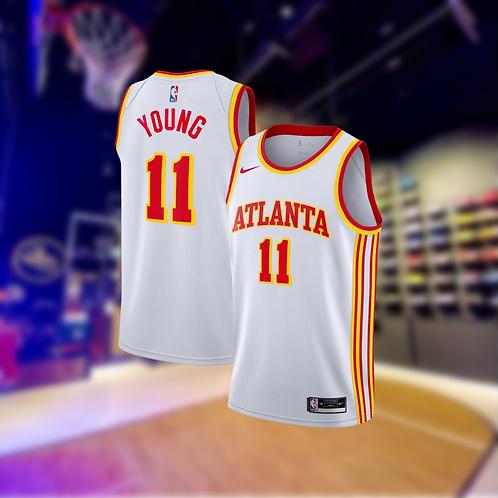 Nike NBA Hawks Association Edition Trae Young Swingman Jersey