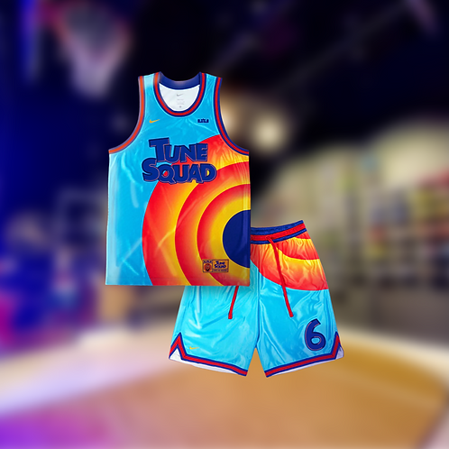 Nike Space Jam Tune Squad Jersey and Shorts