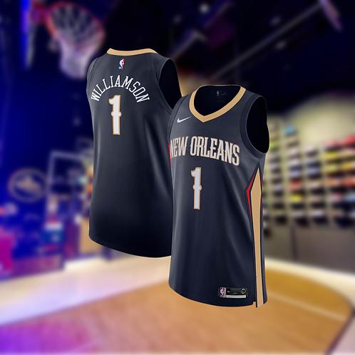 Nike NBA Pelicans Icon Edition Zion Williamson Authentic Jersey
