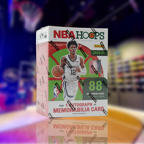 Panini 2020-2021 NBA Hoops Blaster box (Winter Edition)