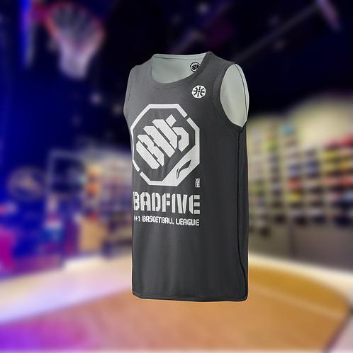 LiNing BADFIVE Double Sides Basketball Jersey Black/White