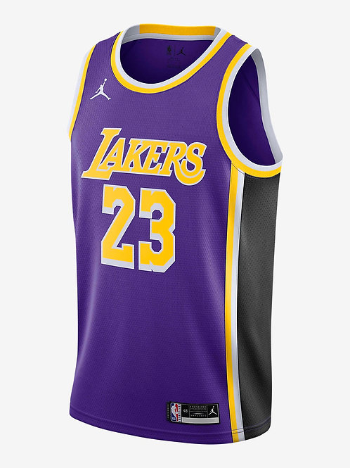 Jordan NBA Swingman Jersey LeBron James Lakers Statement Edition 2020