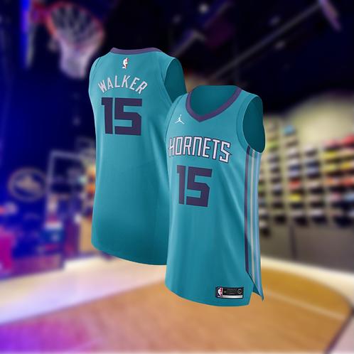 Jordan NBA Hornets Statement Edition Kemba Walker Authentic Jersey