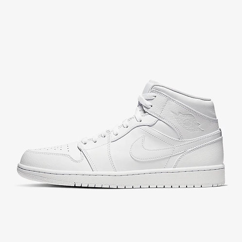 "Air Jordan 1 Mid ""White"""