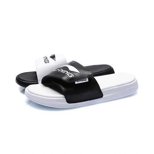 Lining Casual Black/White Slippers