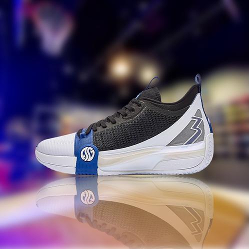 361 Degrees Zen 3 White/Blue Aaron Gordon basketball shoes